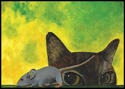 Daantje en de muis