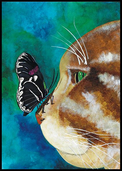 Poemeltje en de vlinder